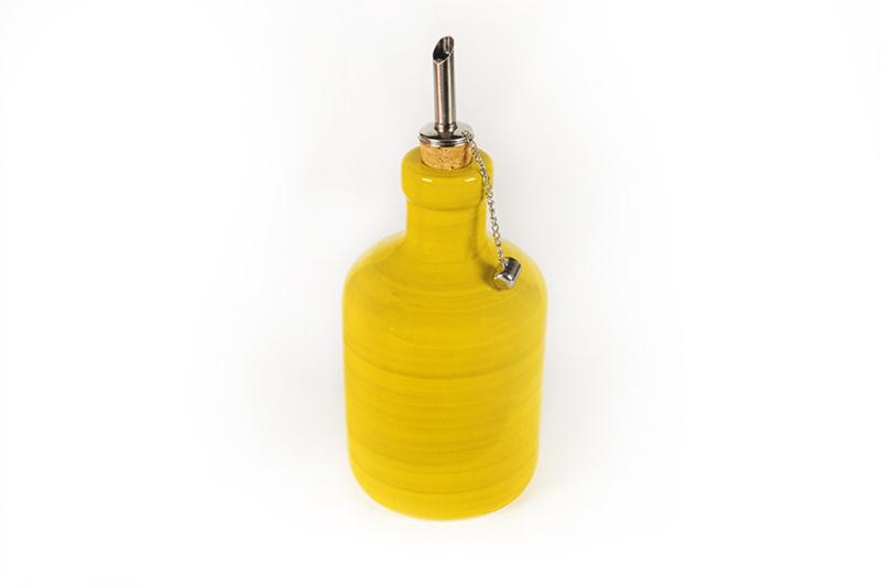 Olijfolieflesje lemon of oranje