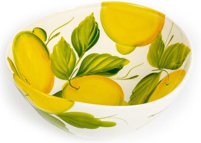Schaal met citroenen extra groot