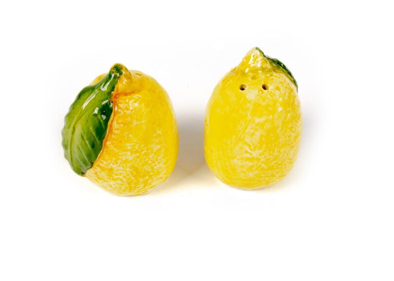 Peper- en zoutsetje citroen