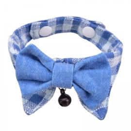 Halsband Hobbes blauw