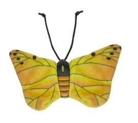 Gele vlinder kattenkruid