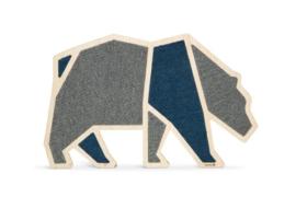 Houten krabplank blue bear