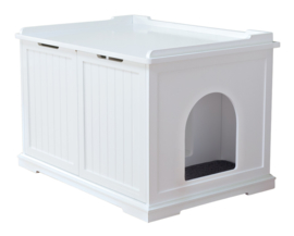 Kattenbak-huis XL