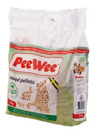 PeeWee houtkorrels (3kg)