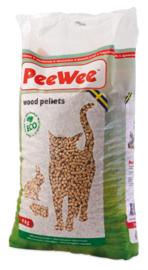 PeeWee houtkorrels (9kg)
