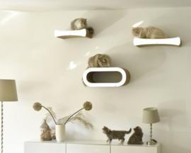 Muur-wand krabmeubels Cat-on