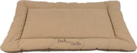 Bench mat bruin/zand