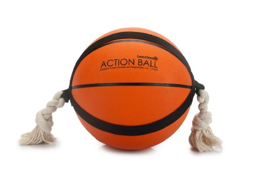 Action Basketbal met touw Beeztees