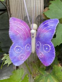 Vlinder paars / butterfly purple