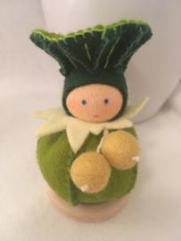 Paddenstoel bol/  mushroom ball - groen