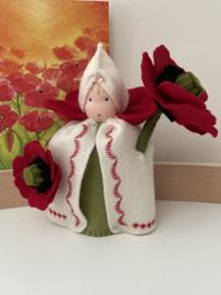Bloemenkindje klaproos / Flowerchild Poppyflower
