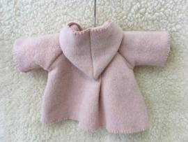 Jasje organic fleece roze/ jacket organic fleece pink