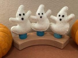 Jaarringsteker spookje- Year ring plug ghost