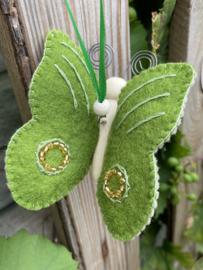 Vlinder groen / butterfly green