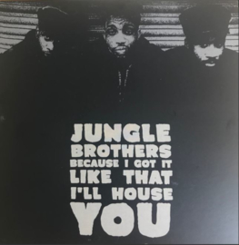 "Jungle Brothers ‎– Because I Got It Like That / I'll House You (7"")"