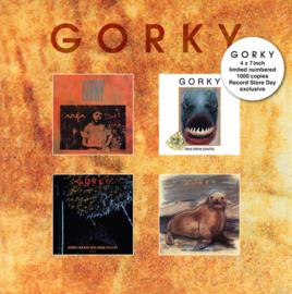 """Gorki – Anja / Lieve Kleine .../ Soms Vraagt ... / ... (4 x 7"""" Box)"""