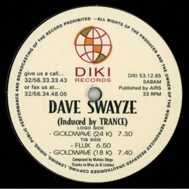 "Dave Swayze - Induced By Trance (12"")"