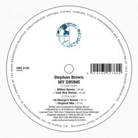 """Stephen Brown - My Drums (12"""")"""