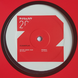 "Floorplan ‎– Never Grow Old / Phobia (Re-Plants) (12"")"