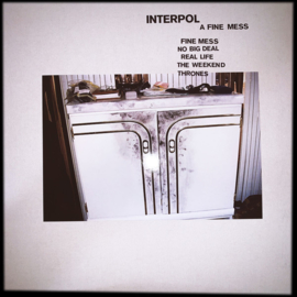 "Interpol ‎– A Fine Mess (12"" EP)"