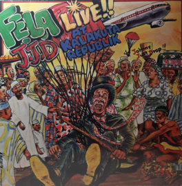 Fela Kuti And Afrika 70 – J.J.D - Live!! At Kalakuta Republik