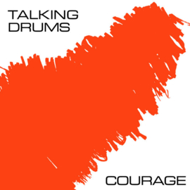 "Talking Drums ‎– Courage (12"")"