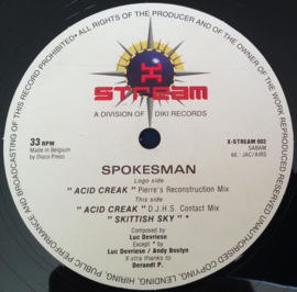 "Spokesman - Acid Creak (12"")"