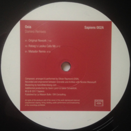 "Oxia ‎– Domino Remixes (12"")"