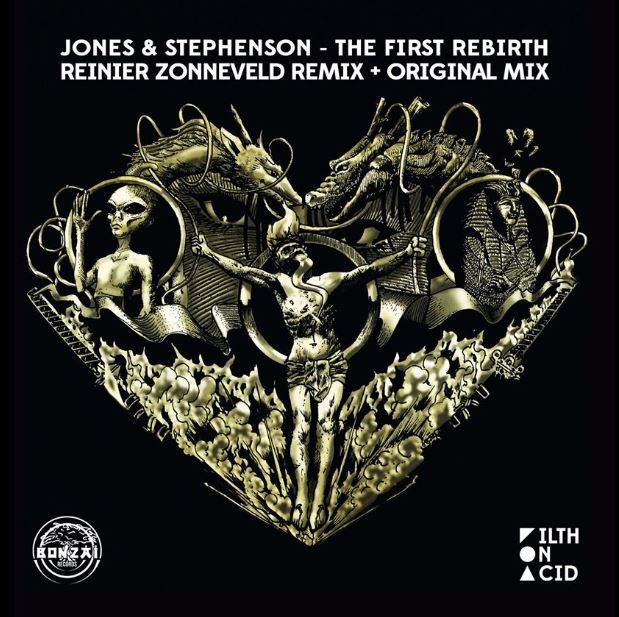 "Jones & Stephenson - The First Rebirth (Reinier Zonneveld RMX) (12"")"