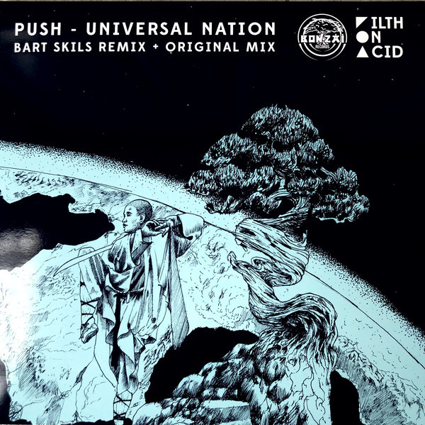 "Push ‎– Universal Nation (Bart Skils Rmx + Original)(12"")"