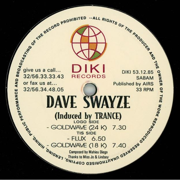 """Dave Swayze - Induced By Trance (12"""")"""