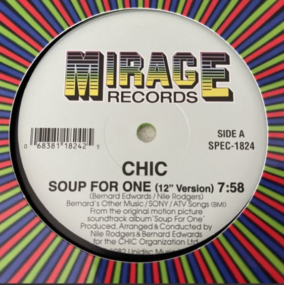 """Chic – Soup For One (12"""")"""
