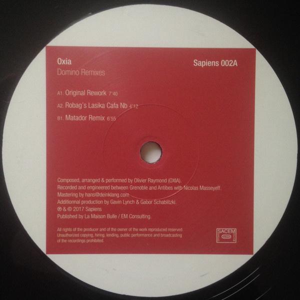 "Oxia – Domino Remixes (12"")"