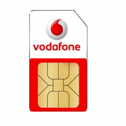 Vodafone Prepaid Simkaart pakket