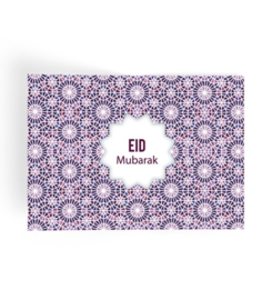 Eid Mubarak placemat Mozaïek (plastic)