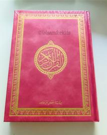 Koran Arabisch gekleurde kaft roze