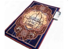 Elektronisch gebedskleed Blauw/bruin