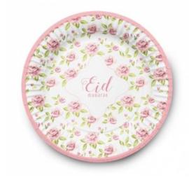 Eid Mubarak bord Vintage (set van 6)