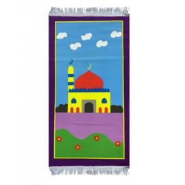 Kinder gebedskleed paars