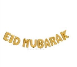 Eid Mubarak folie ballon goud