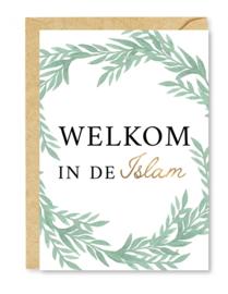 Wenskaart Welkom in de Islam