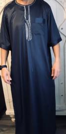 Qamis Ikaf donkerblauw