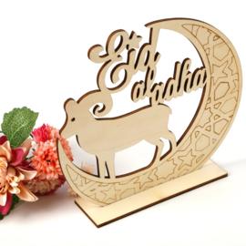 Eid al adha houten decoratie