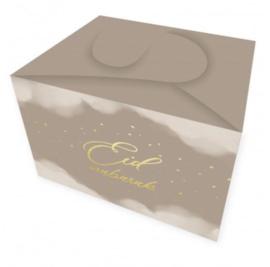 Koekjes/cadeau doos taupe
