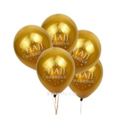 hajj Mabrour ballonnen goud (10 stuks)
