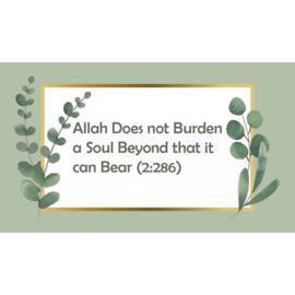 Magneet - Allah Does not Burden...