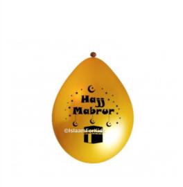 Hajj Mabrur ballonnen (10 stuks)