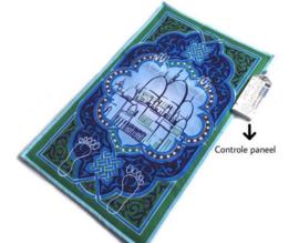 Elektronisch gebedskleed Blauw/groen