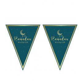 Ramadan Mubarak slinger groen/goud
