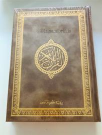 Koran Arabisch gekleurde kaft taupe